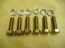 END PLATE 7 MM BOLT KIT